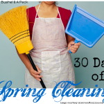 30 Days of Spring Cleaning ~ And I'm Spent!