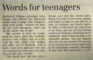 wordsforteens